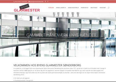 Hjemmeside for Byens Glarmester